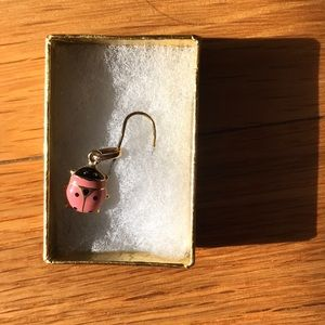 14k Gold ladybug pendant